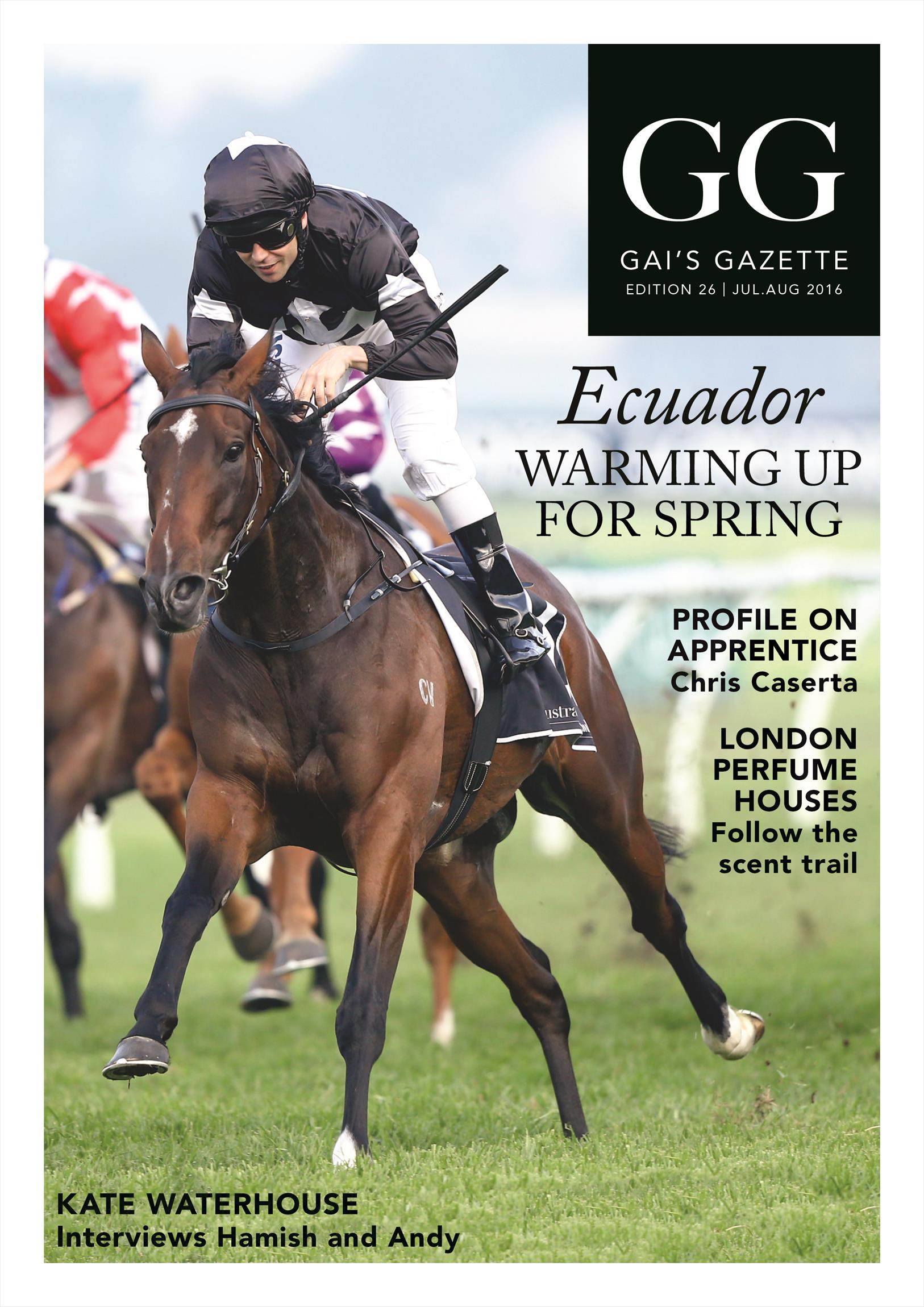 Gai's Racehorse Training Gazette