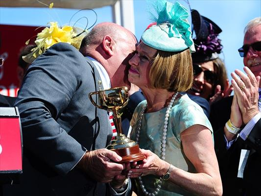 Gai collects her Melbourne Cup