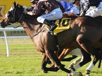 Vaquera Swoops Late to Claim the G3 Tibbie Stakes