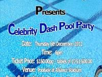 Celebrity Dash Pool Party