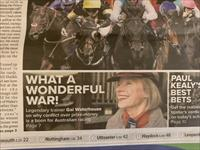 Gai Making Headlines In The Racing Post